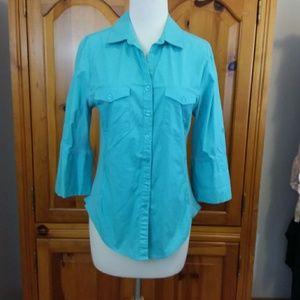 Hester & Orchard knit Shirt Button-down Medium